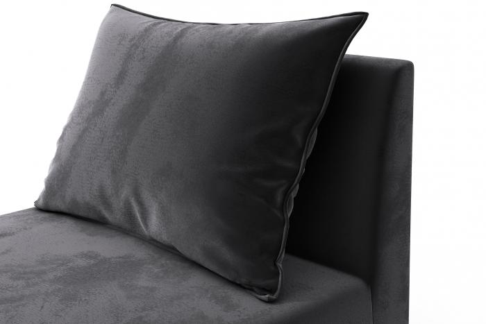 Modul de mijloc Tina, Gri inchis, 105x82x88 cm 5