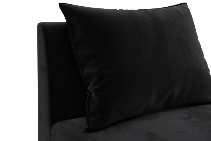 Modul de mijloc Tina, Negru, 105x82x88 cm 4