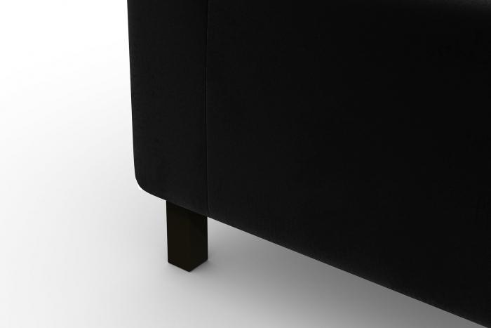 Modul de mijloc Tina, Negru, 105x82x88 cm 6