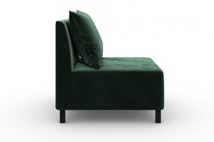 Modul de mijloc Tina, Verde inchis, 105x82x88 cm 2