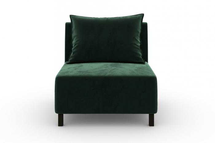 Modul de mijloc Tina, Verde inchis, 105x82x88 cm 1