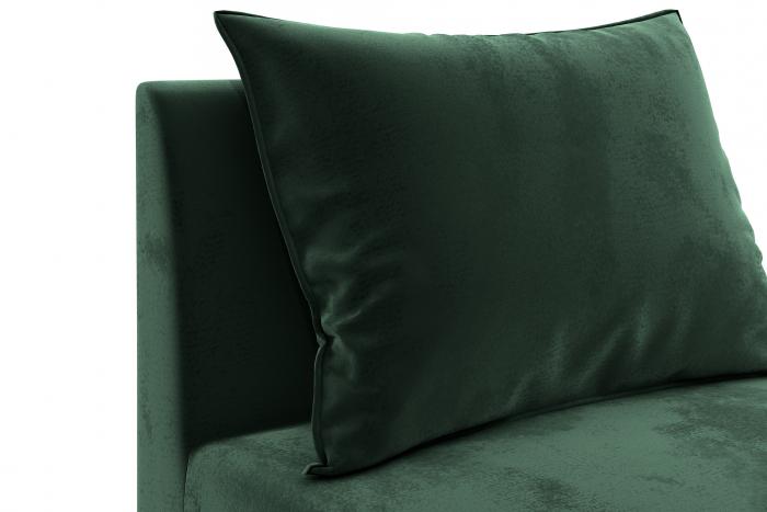 Modul de mijloc Tina, Verde inchis, 105x82x88 cm 4