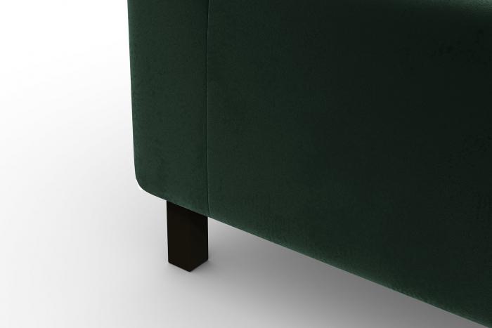Modul de mijloc Tina, Verde inchis, 105x82x88 cm 6