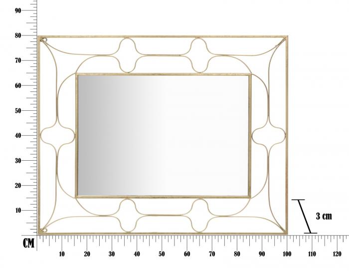 Oglinda ARAB (cm) 80X3X100 5