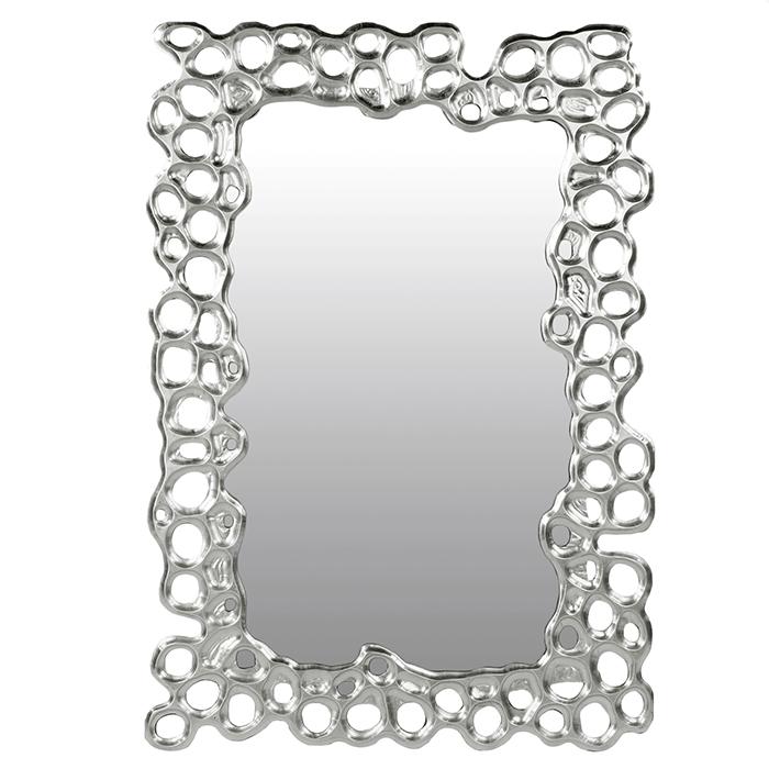 Oglinda BUBBLE, lemn/sticla, 100x70x3 cm 0