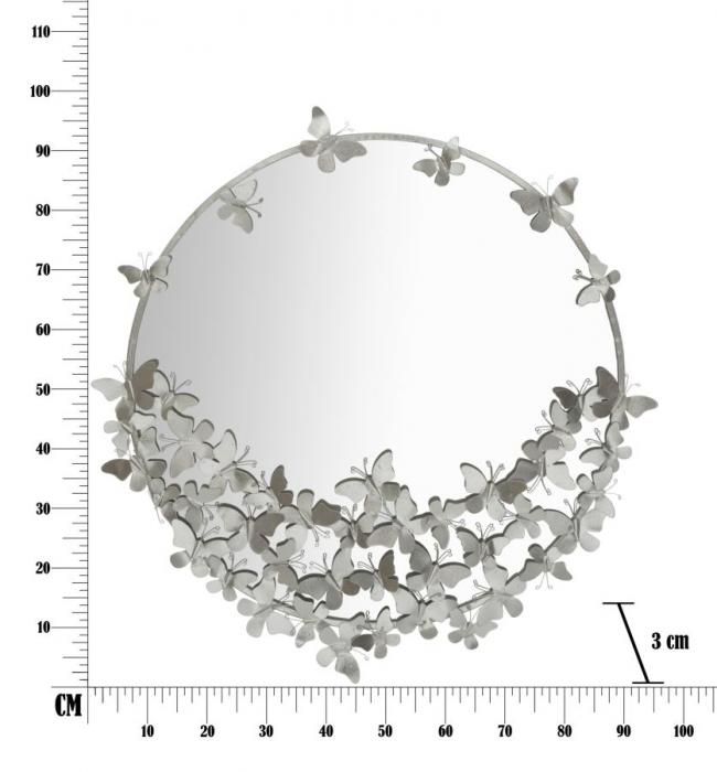 Oglinda BUTTERFLY (cm) Ø 91X3X94 6