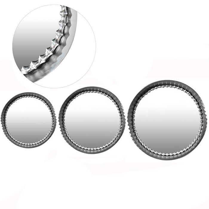 Oglinda Chain, metal oglinda, argintiu, 50 cm imagine 2021 lotusland.ro