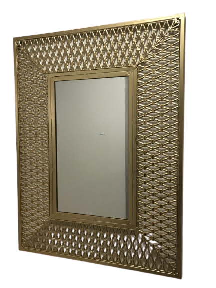 Oglinda CHAMBORDS, metal, 80x60x1.5 cm 1