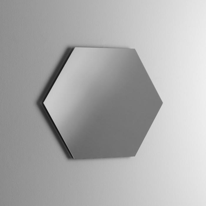 Oglinda COOL, Sticla, Transparent, 79x2.5x79 cm 0