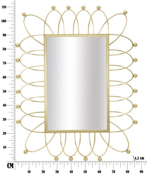 Oglinda de perete AMELIE, 86.5X4.5X111 cm, Mauro Ferretti 8