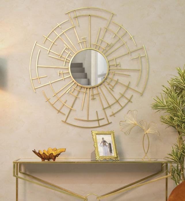 Oglinda de perete DIXY, 105X2 cm, Mauro Ferretti imagine 2021 lotusland.ro