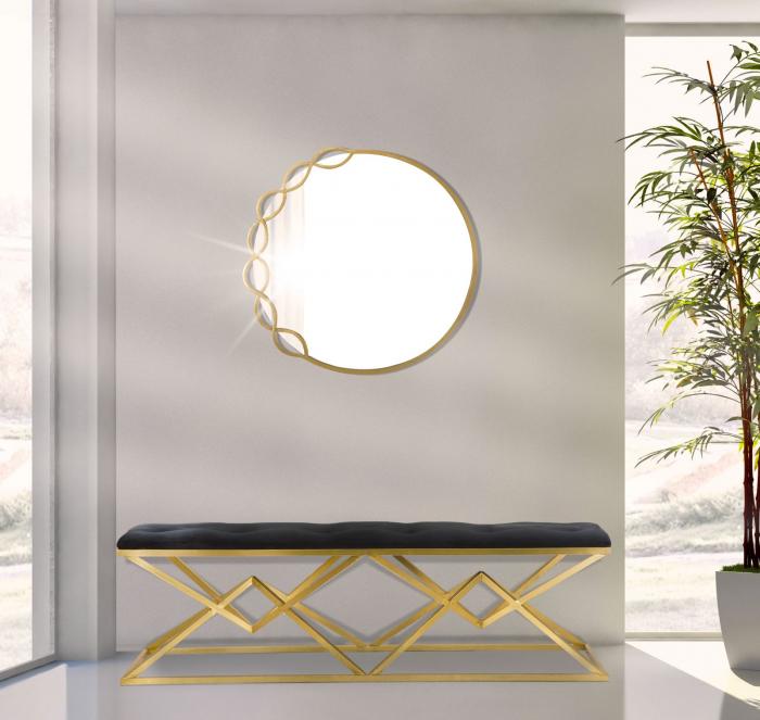 Oglinda de perete ELEONOR, 72x2 cm, Mauro Ferretti 5