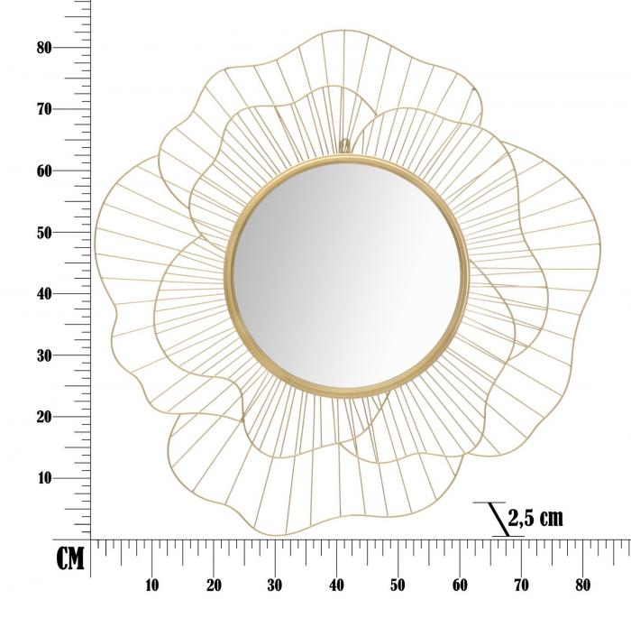 Oglinda de perete FLOT, 82X2.5 cm, Mauro Ferretti 5