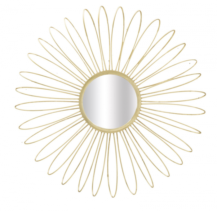 Oglinda de perete GLAM DAISY, 92X9 cm, Mauro Ferretti imagine 2021 lotusland.ro