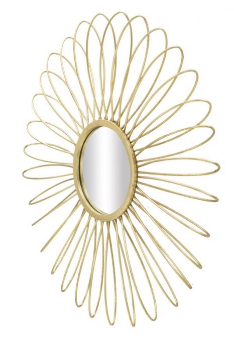 Oglinda de perete GLAM DAISY, 92X9 cm, Mauro Ferretti 2