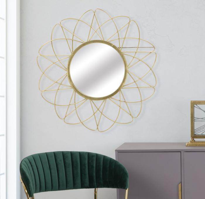 Oglinda de perete GLAM ISRA, 81.5X4 cm, Mauro Ferretti 6