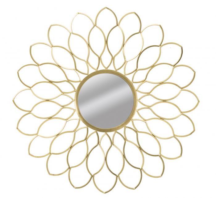 Oglinda de perete GLAM MARGERITE, 97X5 cm, Mauro Ferretti 2021 lotusland.ro