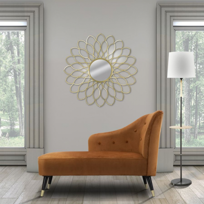 Oglinda de perete GLAM MARGERITE, 97X5 cm, Mauro Ferretti  7