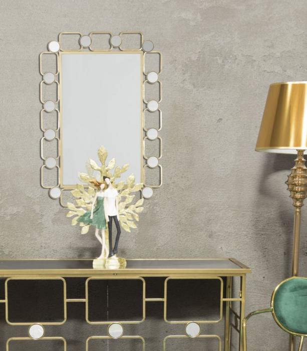 Oglinda de perete GLOSH, 71X2X102 cm, Mauro Ferretti 6