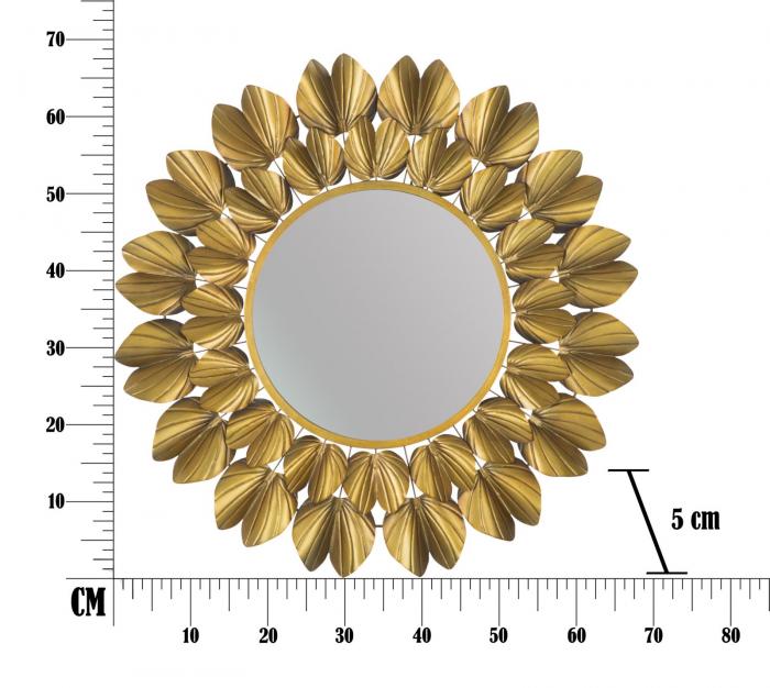 Oglinda de perete GOLDY, 78.5X5 cm, Mauro Ferretti 9