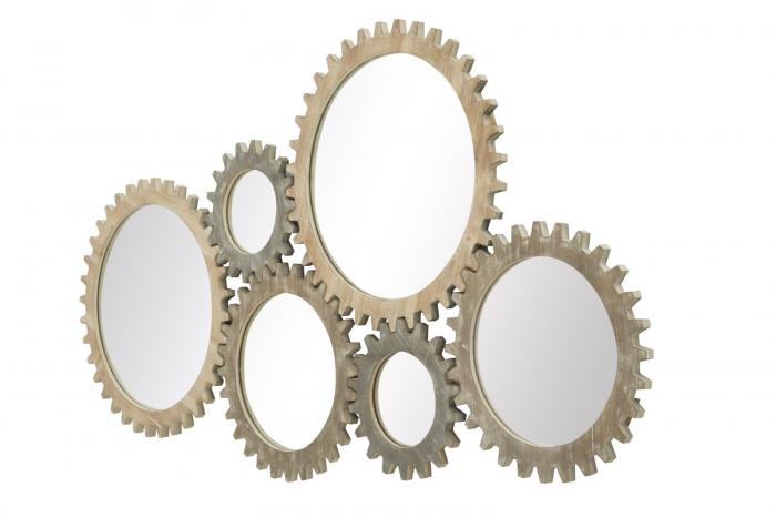 Oglinda de perete INGRANAGGIO, 137X3X73.50 CM, Mauro Ferretti 2