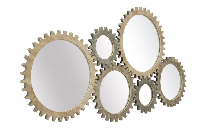 Oglinda de perete INGRANAGGIO, 137X3X73.50 CM, Mauro Ferretti 1