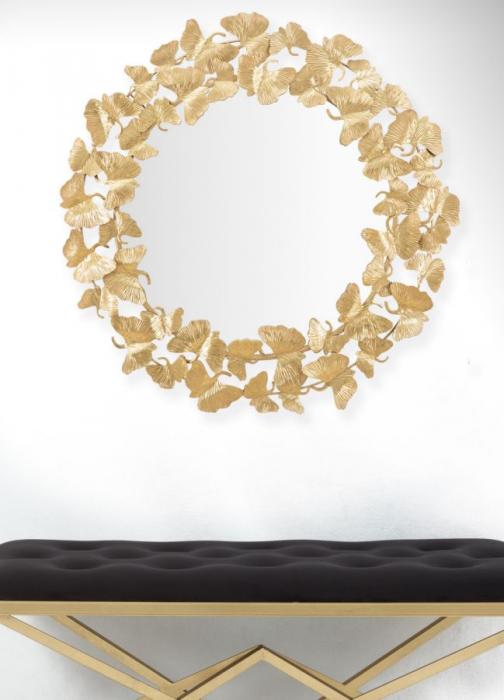 Oglinda de perete LEAF, 87X2.5 cm, Mauro Ferretti 6