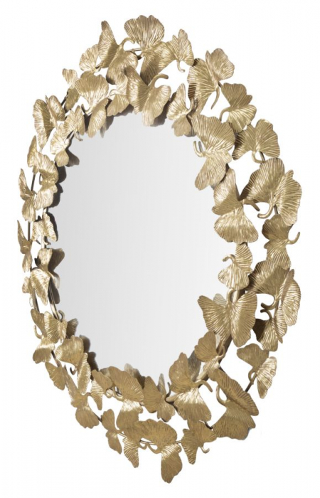 Oglinda de perete LEAF, 87X2.5 cm, Mauro Ferretti 3