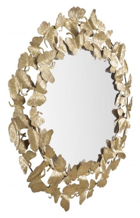 Oglinda de perete LEAF, 87X2.5 cm, Mauro Ferretti 4