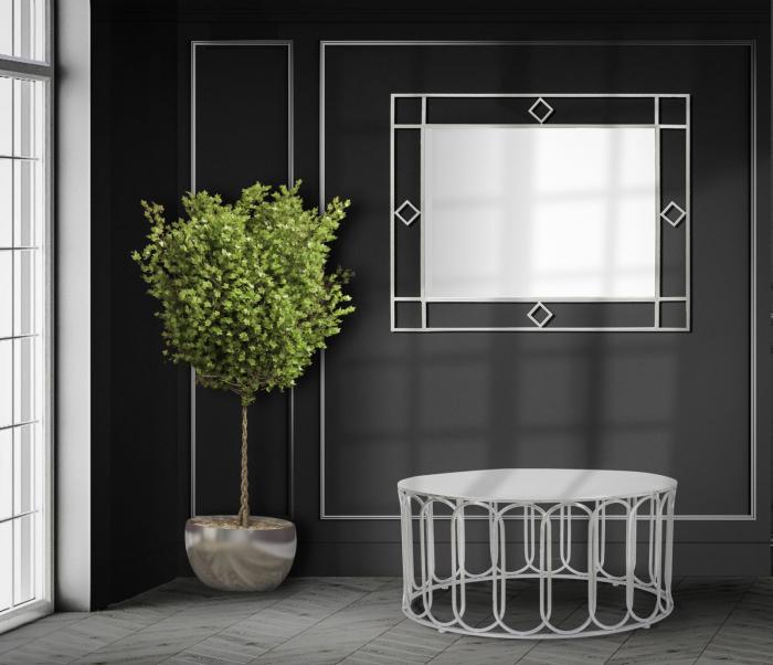 Oglinda de perete OSLO, 80X2.5X100 cm, Mauro Ferretti 0