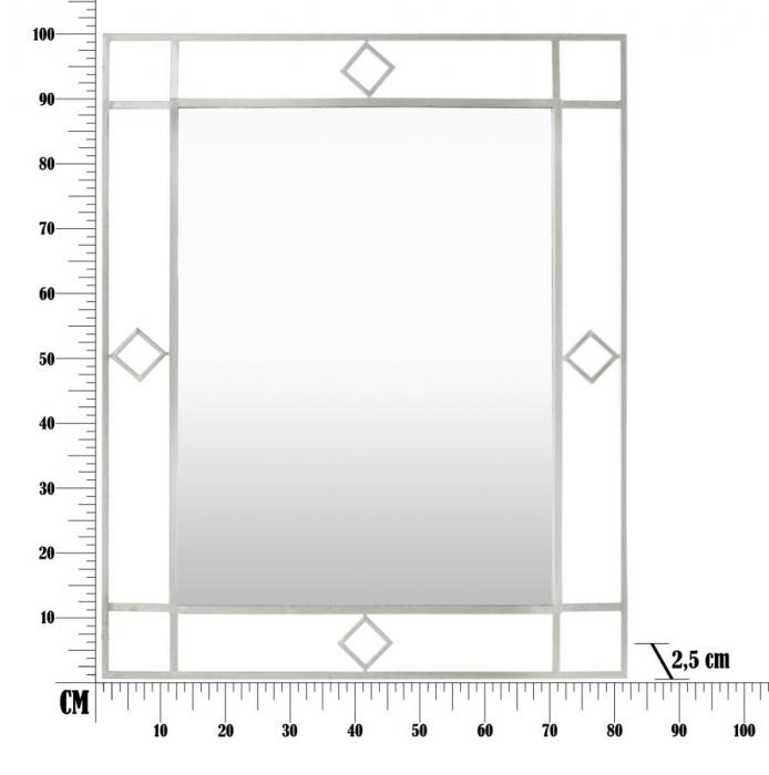 Oglinda de perete OSLO, 80X2.5X100 cm, Mauro Ferretti 5