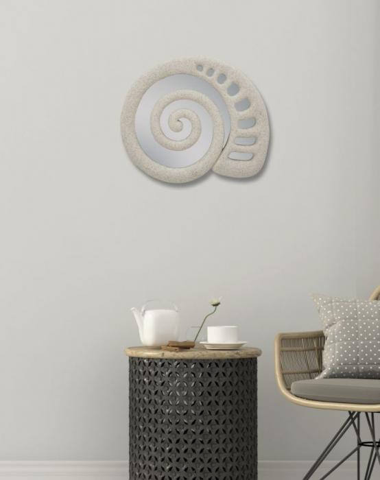 Oglinda de perete SHELL, 32.5X2X27.5 cm, Mauro Ferretti 6
