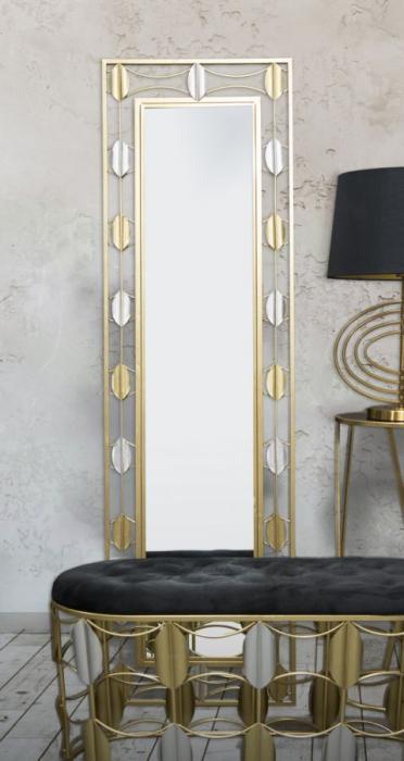Oglinda de podea GLAM LEAF, 50X3X170 cm, Mauro Ferretti 7