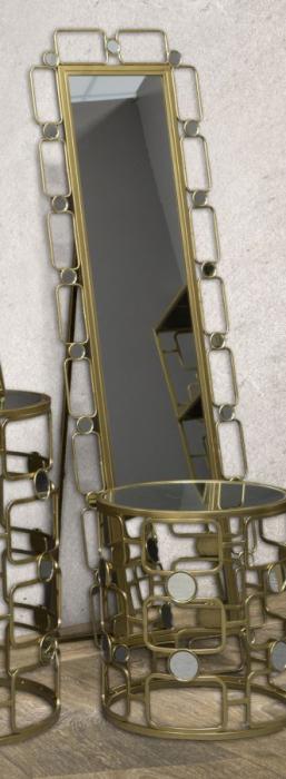 Oglinda de podea GLOSH, 50X3X170 cm, Mauro Ferretti 8