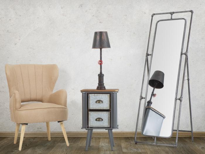 Oglinda de podea TUBE, 53.5X50X153 cm, Mauro Ferretti 7
