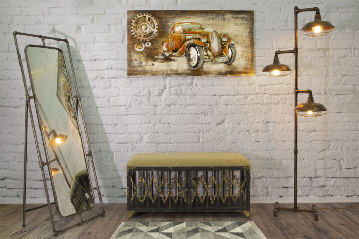 Oglinda de podea TUBE, 53.5X50X153 cm, Mauro Ferretti 6