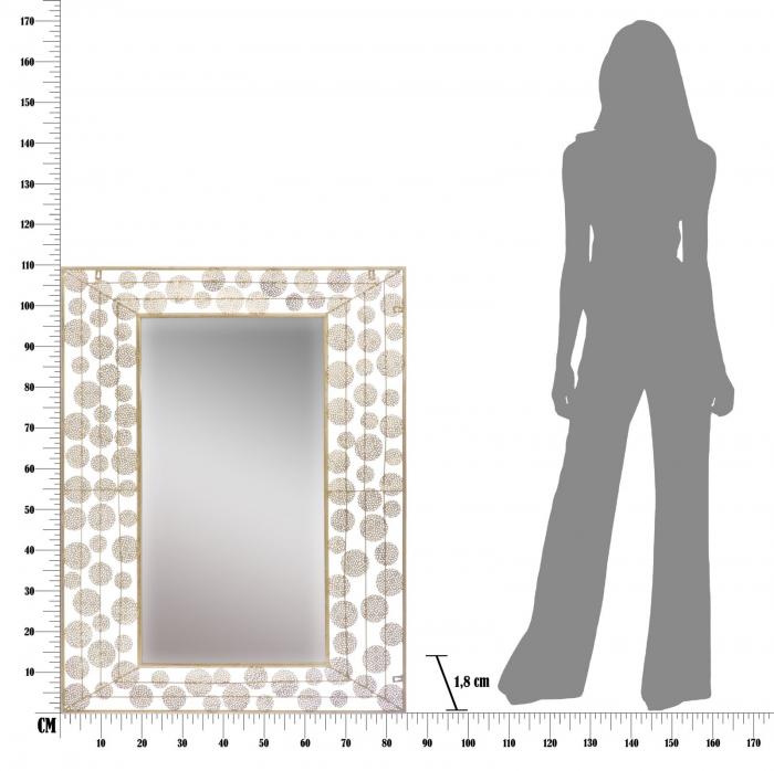 Oglinda DISH GLAM (cm) 85X1,8X110 7