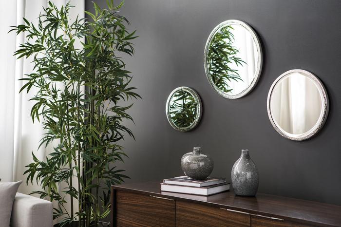Oglinda DUCHESSE, metal/nichel, 51 cm 1