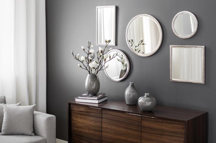 Oglinda DUCHESSE, placata cu nichel, 51x31 cm, Fink [1]