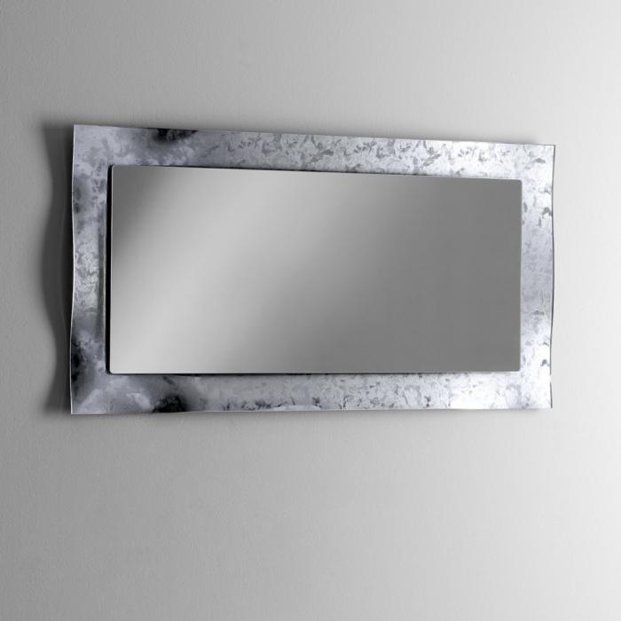 Oglinda ELE, Sticla/Abs, Gri, 65x3x120 cm 1