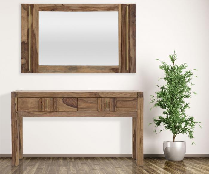 Oglinda ELEGANT, lemn masiv sheesham, 120X3X73 cm, Mauro Ferretti 5