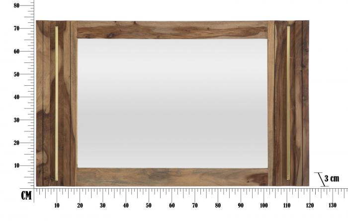Oglinda ELEGANT, lemn masiv sheesham, 120X3X73 cm, Mauro Ferretti 7