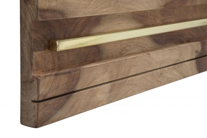 Oglinda ELEGANT, lemn masiv sheesham, 120X3X73 cm, Mauro Ferretti 4