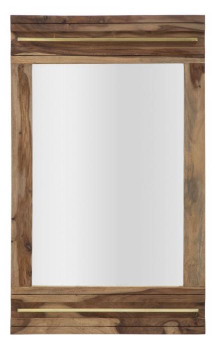 Oglinda ELEGANT, lemn masiv sheesham, 120X3X73 cm, Mauro Ferretti 1