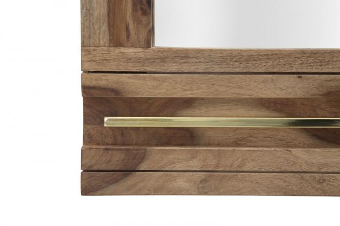Oglinda ELEGANT, lemn masiv sheesham, 120X3X73 cm, Mauro Ferretti 3