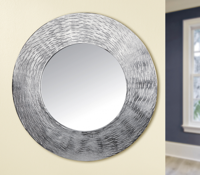 Oglinda ESPEJO, aluminiu, 50x2 cm imagine 2021 lotusland.ro