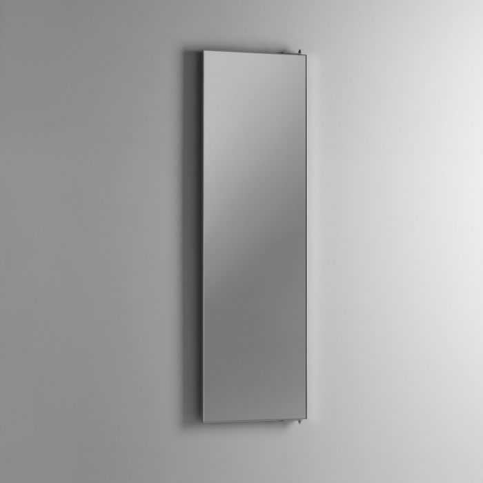 Oglinda GIRO, Sticla Metal, Transparent, 48x5x140 cm lotusland.ro