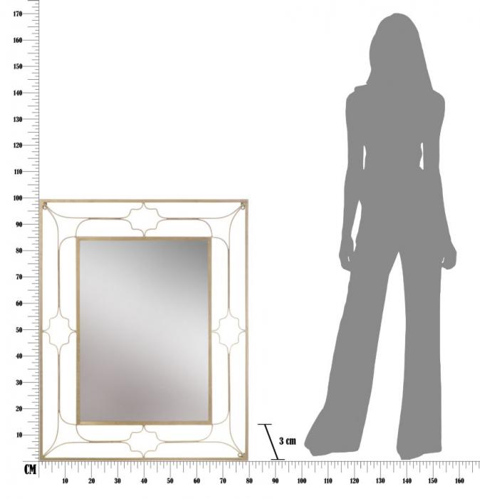 Oglinda GLAM BALCONY NEW (cm) 80X3X100 5