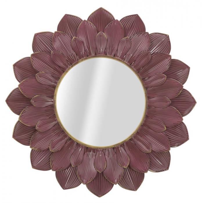 Oglinda GLAM BORDEAUX (cm) Ø 100X4,5 0