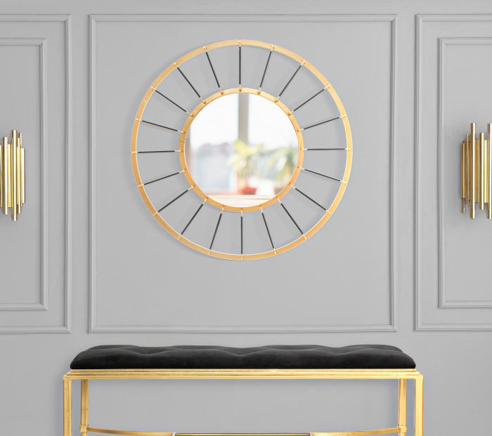 Oglinda GLAM DARK CM O 81X6,5 (oglinda CM O 41,5), Mauro Ferretti imagine 2021 lotusland.ro